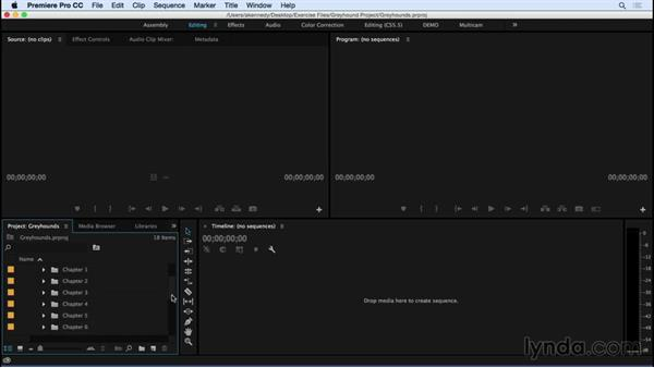 Using the exercise files: Premiere Pro CC Essential Training (2015)