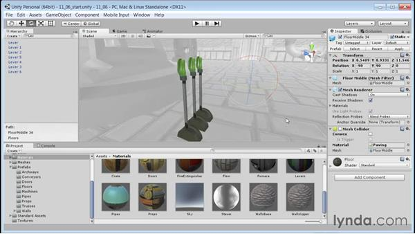 Making Revisions: Unity 5: 3D Essential Training