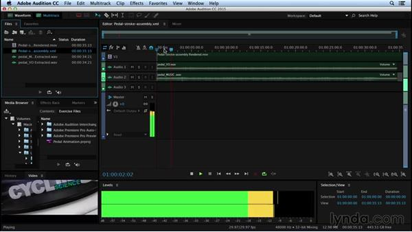 Starting out in Audition: Sound Design for Motion Graphics