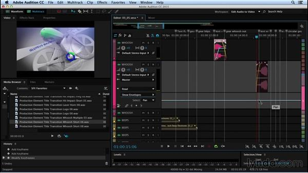 Creating motion through sound: Sound Design for Motion Graphics