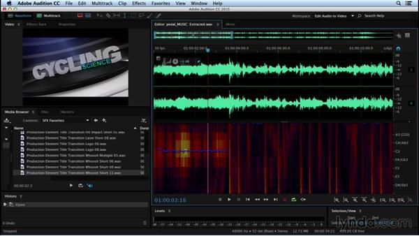 Working with tonal vs. nontonal sounds: Sound Design for Motion Graphics
