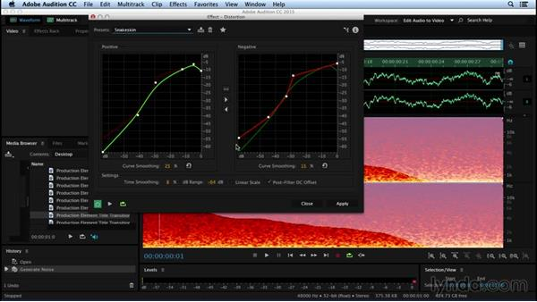 Sculpting sound from nothing with Doppler and Distortion: Sound Design for Motion Graphics