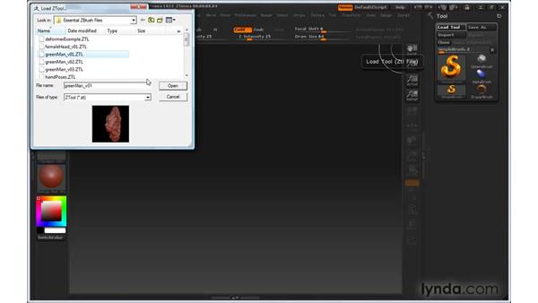 Can't move the model on the canvas: ZBrush 3 for Windows Essential Training