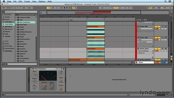 Ways to use compression: Advanced EDM Mixing Principles