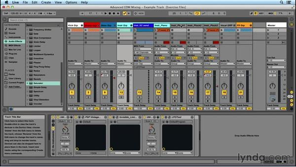 What are subgroups?: Advanced EDM Mixing Principles