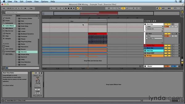 Using a kick subgroup: Advanced EDM Mixing Principles