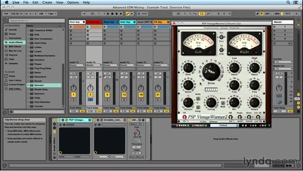 Using a drum subgroup: Advanced EDM Mixing Principles