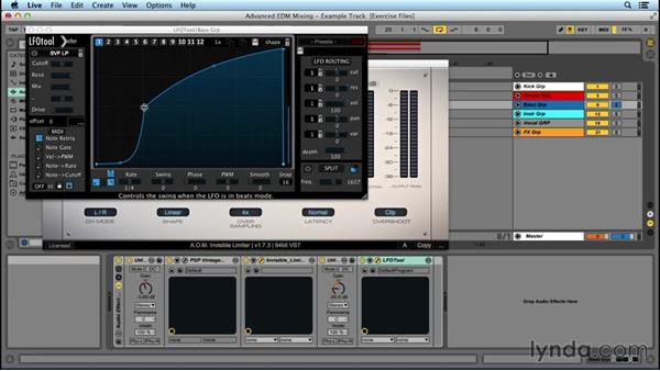 Using a bass subgroup: Advanced EDM Mixing Principles