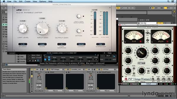 Using an instruments subgroup: Advanced EDM Mixing Principles