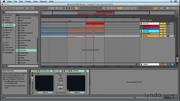 Using an FX subgroup: Advanced EDM Mixing Principles