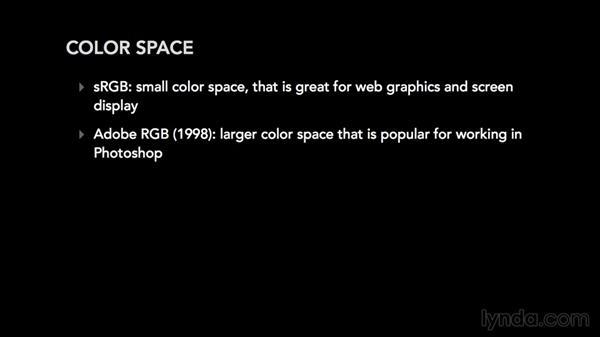 Understanding color space: Photoshop CC Essential Training (2015)