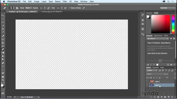 Exploring layer basics: Photoshop CC Essential Training (2015)