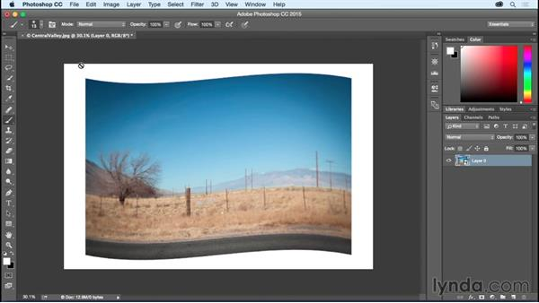 Converting Layers to Smart Objects: Photoshop CC Essential Training (2015)