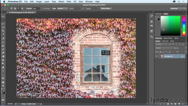 Combining Selections: Photoshop CC Essential Training (2015)