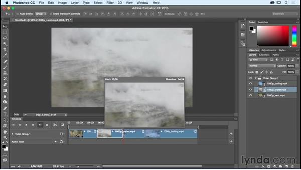 Working with video clips: Photoshop CC Essential Training (2015)