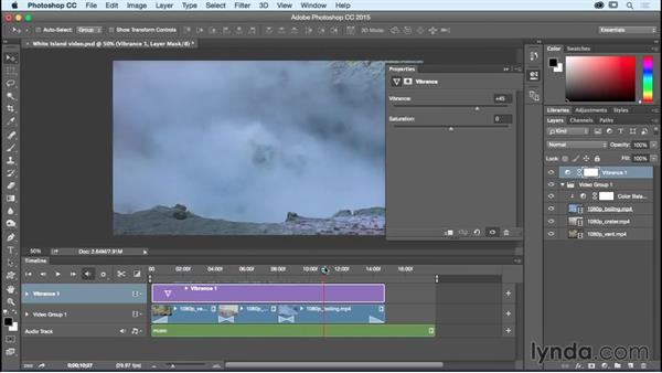 Adding special effects to video files: Photoshop CC Essential Training (2015)