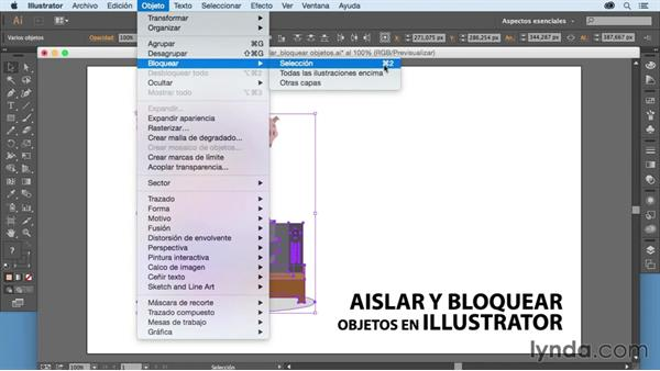 Cómo Aislar Y Bloquear Objetos En Illustrator