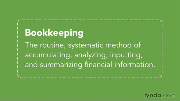What you should know before watching this course: Bookkeeping