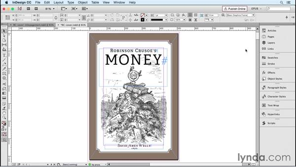 Creating a cover image: InDesign CC 2015: EPUB Fundamentals