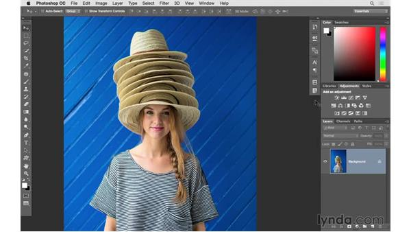 Choosing and customizing a workspace: Photoshop CC 2015 for Photographers: Fundamentals