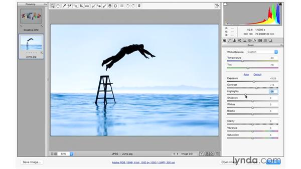 Improving your images with the basic controls: Photoshop CC 2015 for Photographers: Fundamentals