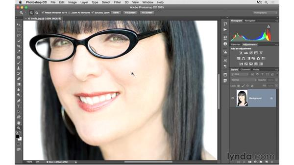 Zooming and panning on your photos: Photoshop CC 2015 for Photographers: Fundamentals