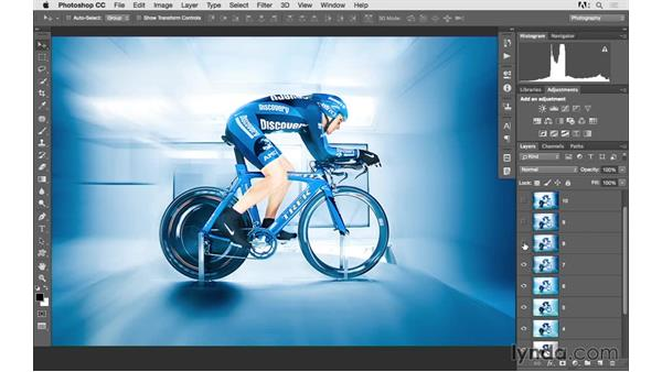 Creative layers case study: Photoshop CC 2015 for Photographers: Fundamentals