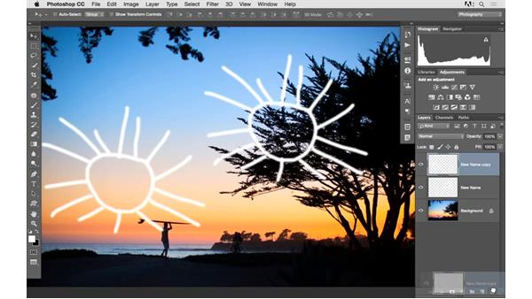 Creating new layers: Photoshop CC 2015 for Photographers: Fundamentals