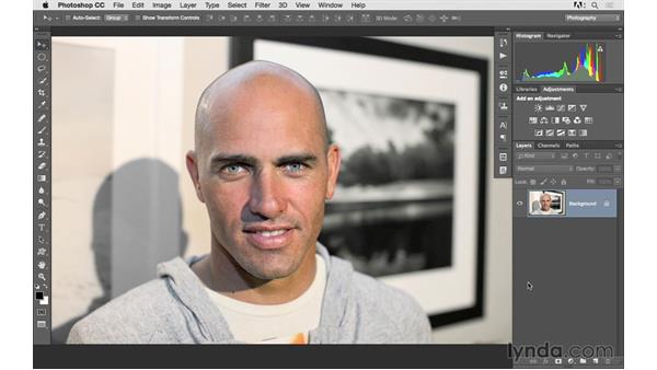 Challenge: Selecting the subject from the background: Photoshop CC 2015 for Photographers: Fundamentals
