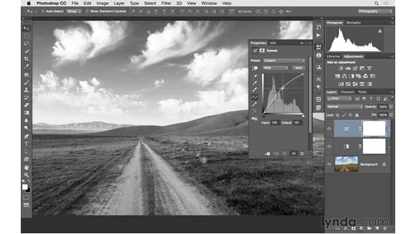 Creating better black-and-white landscape photographs: Photoshop CC 2015 for Photographers: Fundamentals