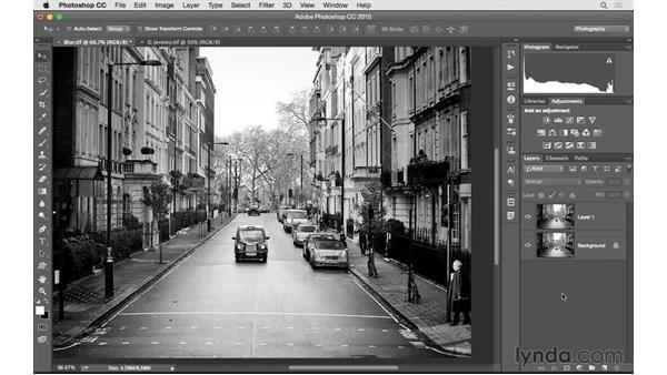Challenge: Adding blur: Photoshop CC 2015 for Photographers: Fundamentals