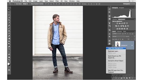 Solution: Adding blur: Photoshop CC 2015 for Photographers: Fundamentals