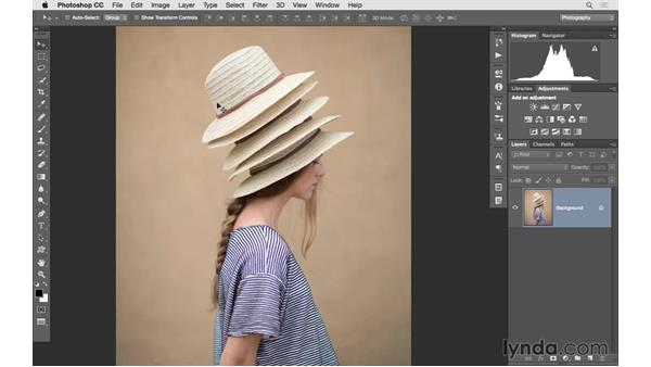 Improving facial structure with Liquify: Photoshop CC 2015 for Photographers: Fundamentals