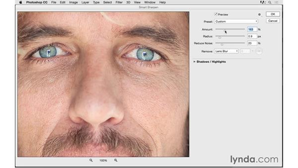 Getting ready to print: Resizing and sharpening: Photoshop CC 2015 for Photographers: Fundamentals