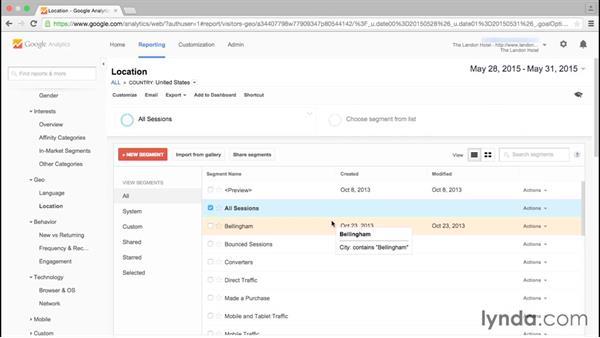 What is segmentation?: Google Analytics Essential Training