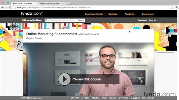 Next steps: Google Analytics Essential Training
