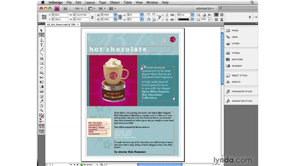 Making stories editable for InCopy from InDesign: InCopy CS4 and InDesign CS4 Workflow Essential Training