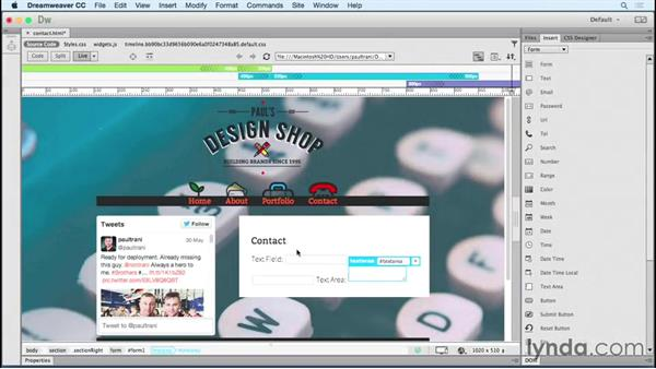 Welcome: Creating a First Website in Dreamweaver CC 2015