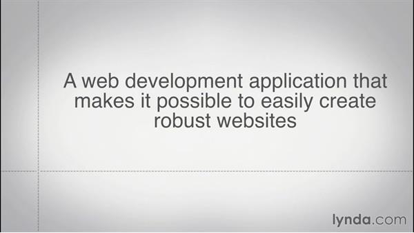 Understanding the Internet and websites: Creating a First Website in Dreamweaver CC 2015