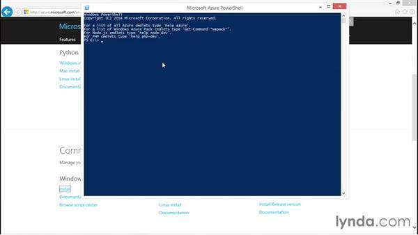 Managing Azure by using Azure PowerShell: Understanding Microsoft Azure Core Functionalities