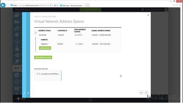 Creating Azure virtual networks: Understanding Microsoft Azure Core Functionalities