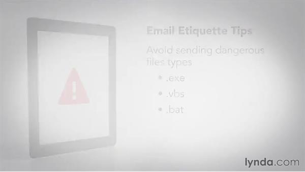 Understanding when and how to reply to an email: Business Etiquette: Phone, Email, and Text