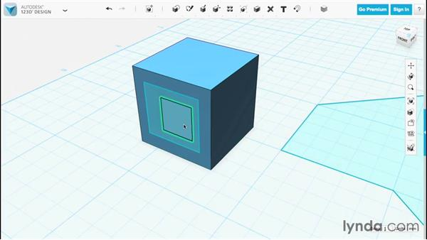 Sketch basics: Up and Running with 123D Design