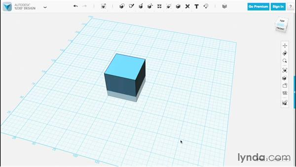 Scaling with transform: Up and Running with 123D Design