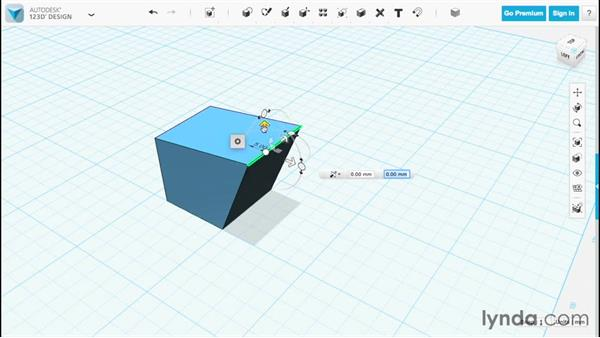 Modifying with Tweak: Up and Running with 123D Design