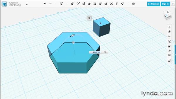 Extruding: Up and Running with 123D Design