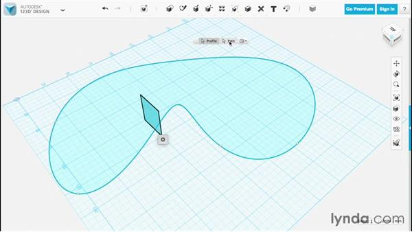 Sweeping: Up and Running with 123D Design