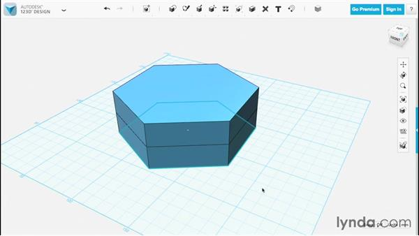 Splitting faces and solids: Up and Running with 123D Design