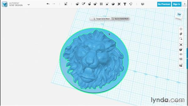 Inserting 3D files: Up and Running with 123D Design