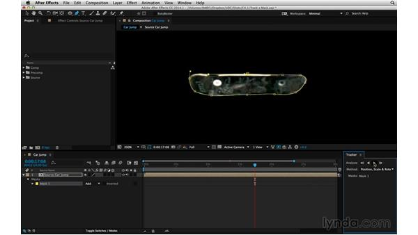 Test the limits of the mask tracker: After Effects Compositing 05: Rotoscoping & Edges